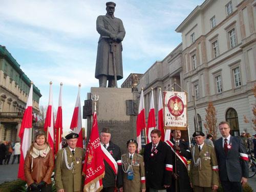 11 listopada naPlacu Marszałka Józefa Piłsudskiego