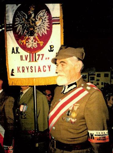 """Odszedł płk Romuald Bardzyński, ps. """"Pająk"""", """"Bar"""""""