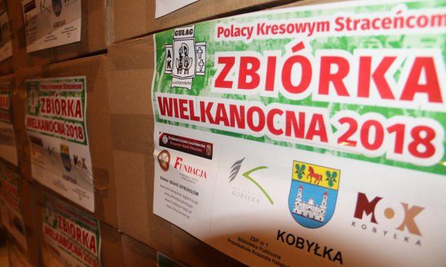 """Relacja zezbiórki paczek """"Polacy Kresowym Straceńcom"""""""