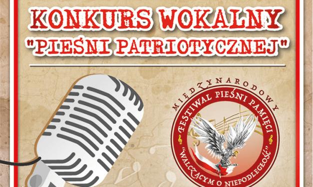 """Konkurs Pieśni Pamięci """"Walczącym oNiepodległość"""""""