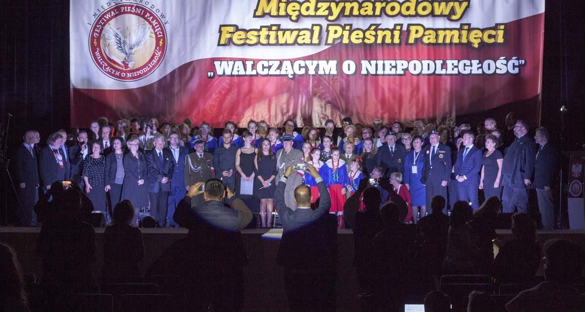 """II Międzynarodowy Festiwal Pieśni Pamięci """"Walczącym oNiepodległość"""" (13-14.10.2018 r.)"""