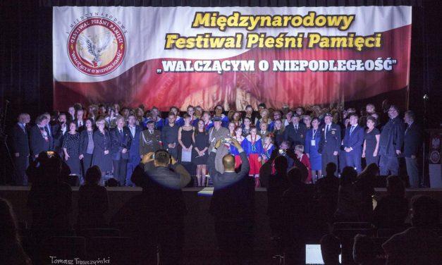 """II Międzynarodowy Festiwal Pieśni Pamięci """"Walczącym oNiepodległość"""" (13-14.10.2018r.)"""