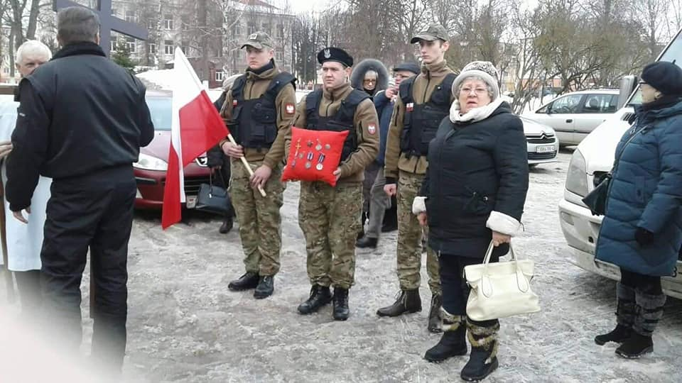 Członkowie Stowarzyszenia uczestniczyli wostatniej drodze ŚP. Ppor. Anny Surowicz