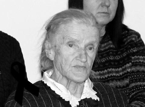 Odeszła nawieczną wartę śp.ppor. Bronisława Kurłowicz, łączniczka Armii Krajowej, Łagierniczka