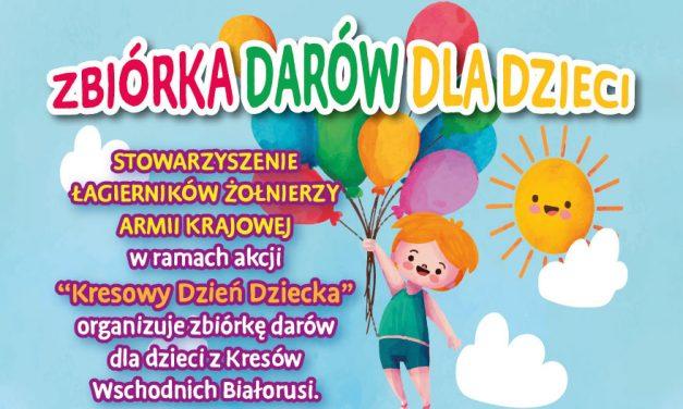 """Zbiórka darów dla dzieci """"Polacy Kresowym Rodakom"""""""