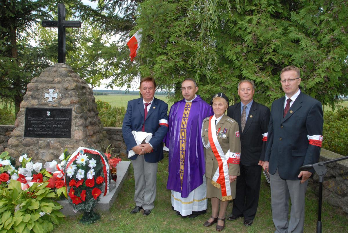 Uroczystości patriotyczne pamięci narodowej: 21 VIII 2012 w68 rocznicę bitwy podSurkontami nakresach wschodnich