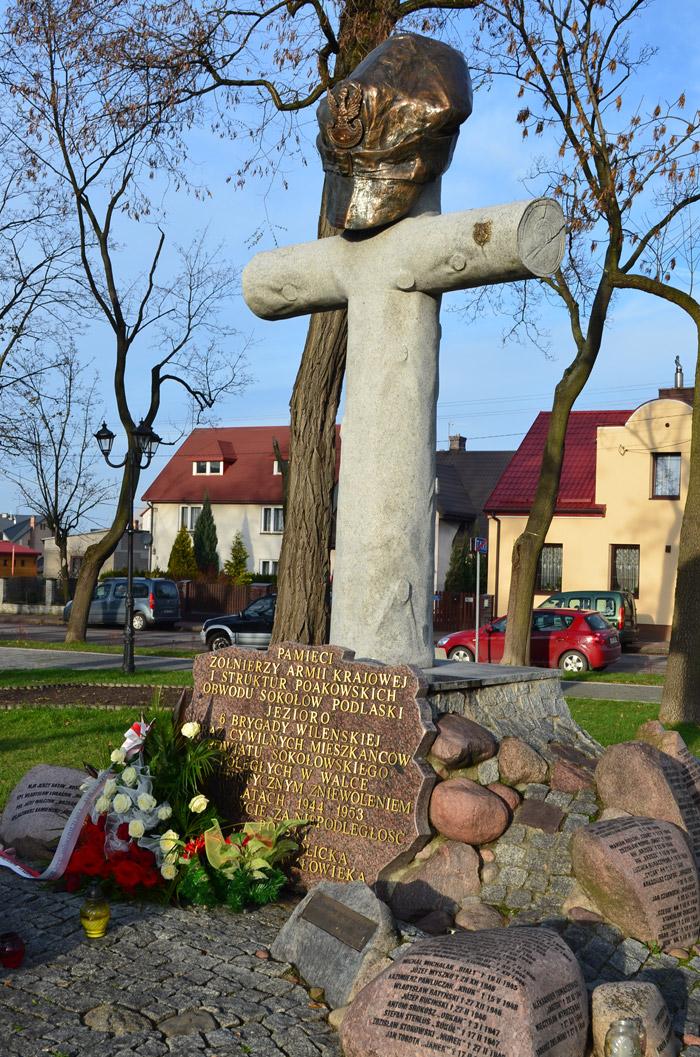 Święto Niepodległości wSokołowie Podlaskim podpomnikiem VI Brygady Wileńskiej