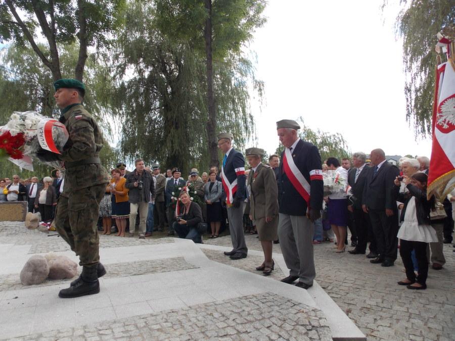 Relacja przedstawicieli Zarządu Głównego Żołnierzy AK zuroczystości wdniu 25.08.2013 r.