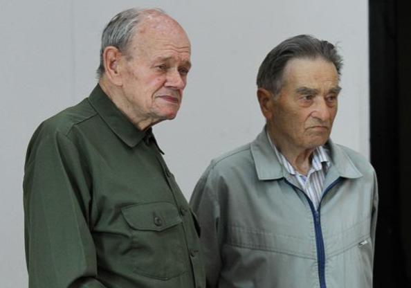 Od lewej: Władysław Korkuć iWacław Pacyno. Fot.Wilnoteka