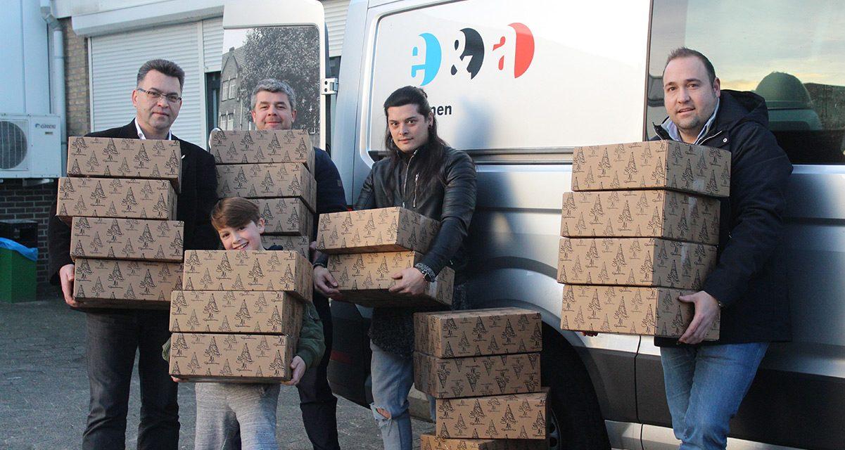 Zbiórka Paczek wHolandii dzięki wnukowi Żołnierza Armii Krajowej