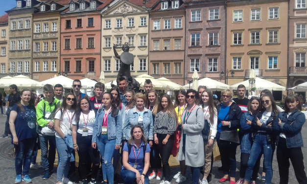 Obóz edukacyjny dla młodzieży polskiej zLitwy iPolski Pułtusk, 28.05.02.06.2019 r.