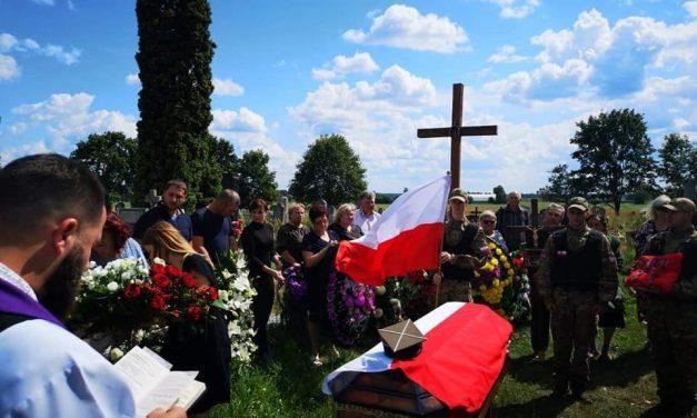 Pogrzeb Kapitana Edwarda Akuszewicza