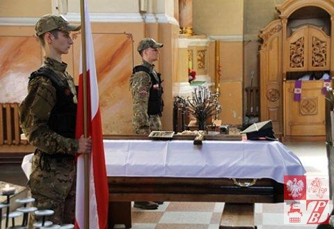Polacy zLidy pożegnali się ześp.kapitanem Edwardem Akuszewiczem (ZDJĘCIA)