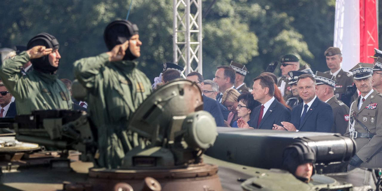 Obchody 100 rocznicy IPowstania Śląskiego orazŚwięto Wojska Polskiego Katowice, 14-16.08.2019 r.