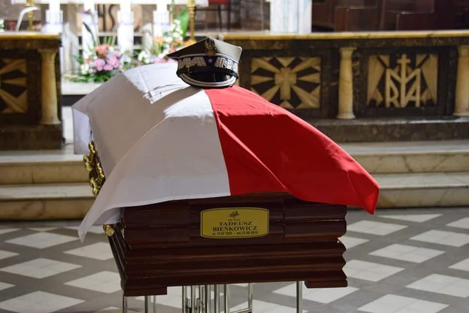 """Pożegnanie gen. Tadeusza Bieńkowicza ps """"Rączy"""""""