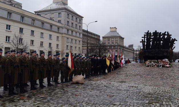 Obchody 80 rocznicy pierwszych masowych deportacji obywateli polskich naSybir, Warszawa, 10.02.2020 r.