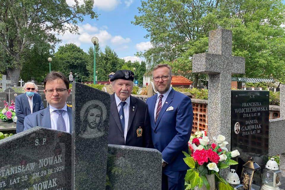 Msza święta wintencji ppłk. Antoniego Łapińskiego