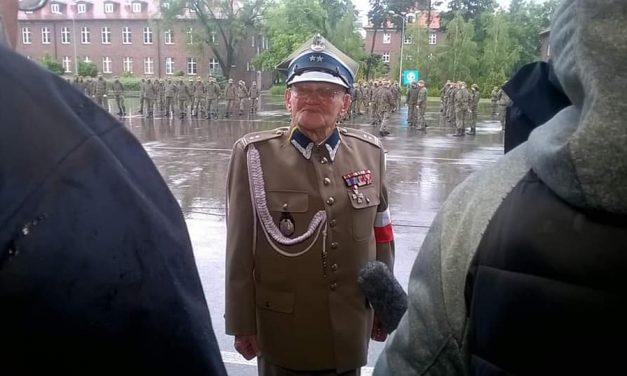 Henryk Czerwiński nominowany nastopień Podpułkownika