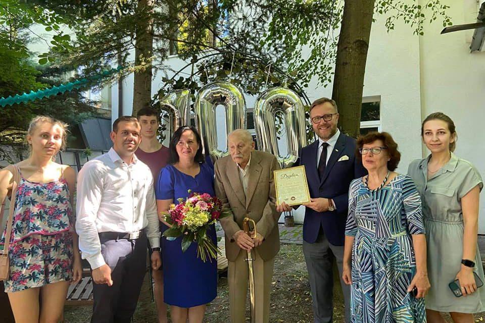 100 urodziny Podpułkownika Michała Bauera