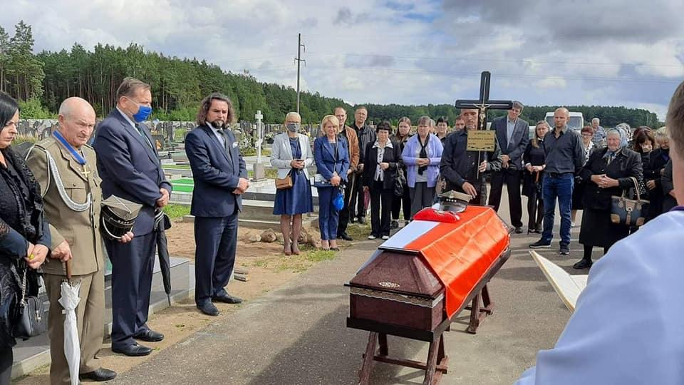 Pogrzeb kpt. Alfonsa Rodziewicza