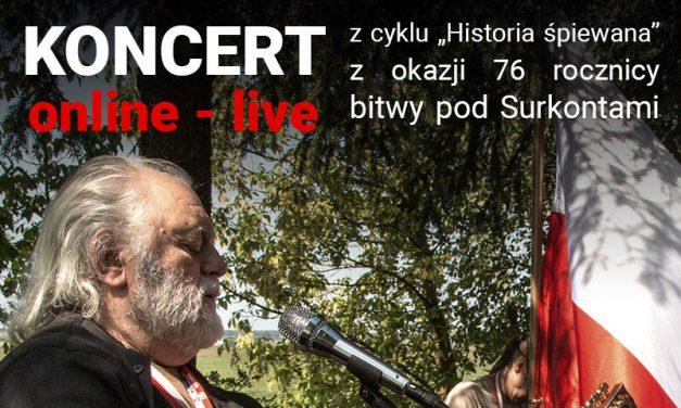 Historia Śpiewana – koncert online: Maciej Wróblewski