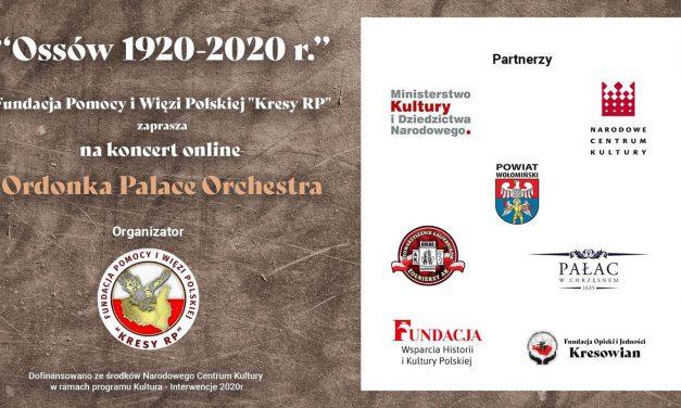 Zaproszenie nakoncert zokazji 100-lecia Bitwy Warszawskiej