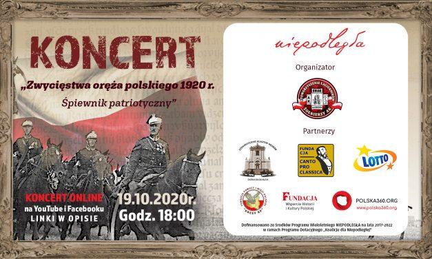"""Koncert """"Zwycięstwa oręża polskiego 1920 r. – Śpiewnik patriotyczny"""""""