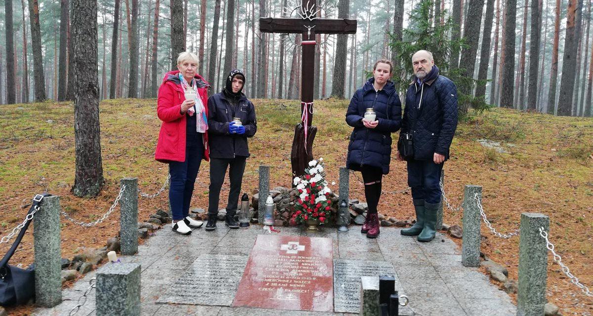 """Projekt """"Pamięci Okręgu Wileńskiego AK"""" zsukcesem zrealizowany !"""