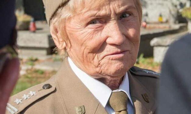 Pozdrowienia zBiałorusi odPani płk Weroniki Sebastianowicz
