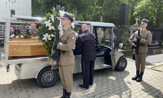 """Pogrzeb mjr Henryka Szostakowskiego <br>(ps. """"Czekan"""")"""