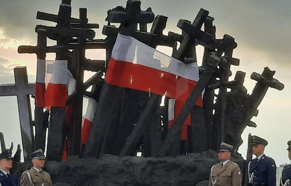 82 rocznica inwazji sowieckiej naPolskę, 17.09.2021 r. Obchody wWarszawie